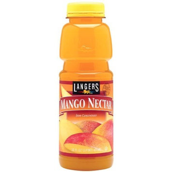 Langers Mango Nectar Juice, 16-Ounces (Pack Of 12)