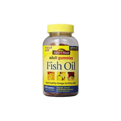 Nature Made Fish Oil Adult Gummies - 150 Count