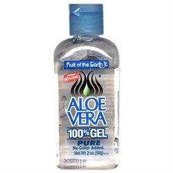 Fruit Of The Earth 100% Aloe Vera Gel 2 oz