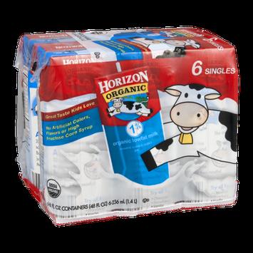 Horizon Organic Milk 1% Lowfat - 6 CT