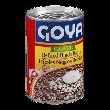 Goya Casero Refried Black Beans
