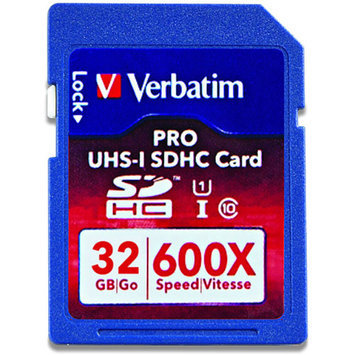 Verbatim PRO 32 GB Secure Digital High Capacity (SDHC)