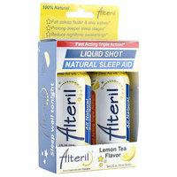 Alteril Lemon Tea Flavor Natural Sleep Aid Liquid Shot