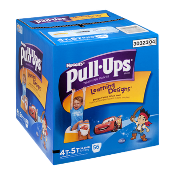 Huggies Pull-Ups Training Pants Learning Designs Disney 4T-5T - 56 CT