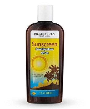 Mercola Natural Sunscreen Spf 15 - 8 Fluid Ounces Lotion - Sun Care