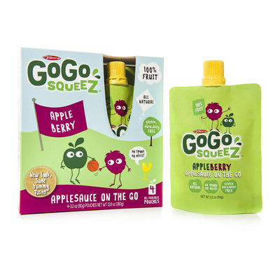Generic GoGo SqueeZ Apple Berry Applesauce On the Go