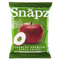 Snapz Apple Chips Plain, 0.7-Ounce (Pack of 12)