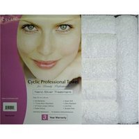 Nano Cyclic Microfiber Towel with Nano Silver Treatment, Snow White