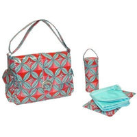 Kalencom Buckle Bag, Tiled Garden Summer (Discontinued by Manufacturer)