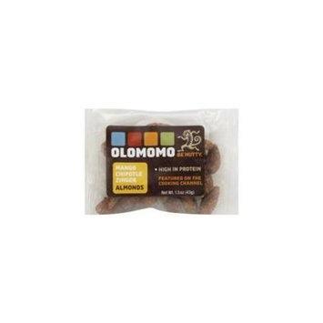 Olomomo Nut Almond Mango Chipotle, 1. 5 Oz. Case Of 48