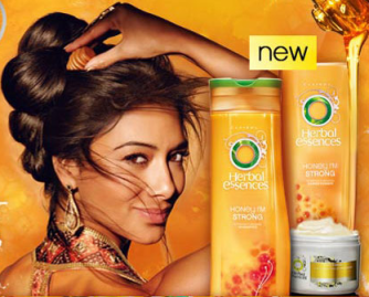 Herbal Essences Honey, I'm Strong hair care collection