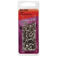 2 Ounce 3/4 Inch by #17 Stainless Steel Nail 122530 by Hillman Group