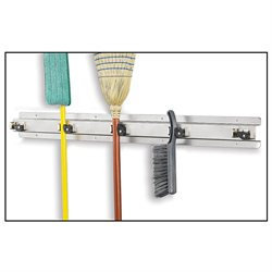 Ex-Cell Kaiser 335 Stainless Steel Stainless Mop & Broom Holder
