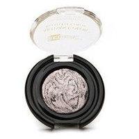 Black Radiance Artisan Color Baked Eye Color Eyeshadow, Silver Frosting, .95 oz