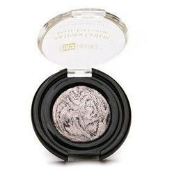 Black Radiance Artisan Color Baked Eye Color Eyeshadow, Silver Frosting, .95 oz