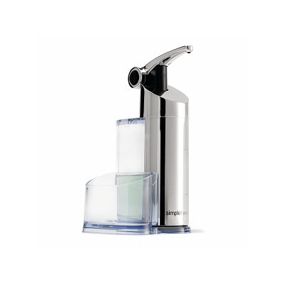 simplehuman Push Pump with Caddy for Soap or Lotion