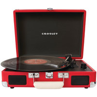 Crosley Radio Cruiser Turntable, Red, 1 ea