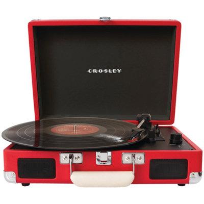 Crosley Radio Cruiser Turntable, Red, 1 ea