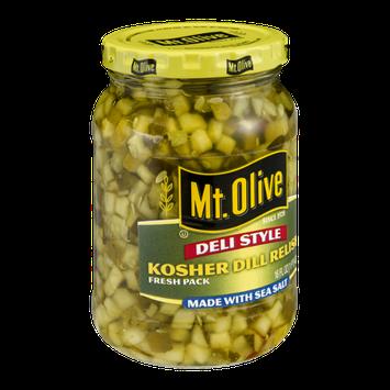 Mt. Olive Deli Style Kosher Dill Relish