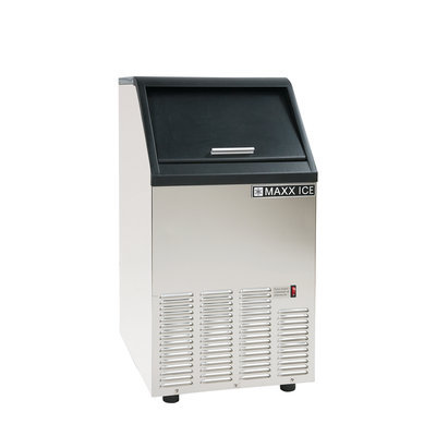 Maxx Ice 75 lb. Freestanding Icemaker in Stainless Steel MIM75