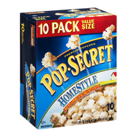 Pop-Secret Premium Popcorn Homestyle - 10 CT