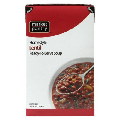 market pantry MP Boxed Lentil Soup 17.5oz
