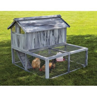 Midwest Metal Products Co. Mid-West Home for Pets Hen Haven Composite Plastic/Wood Chicken Coop