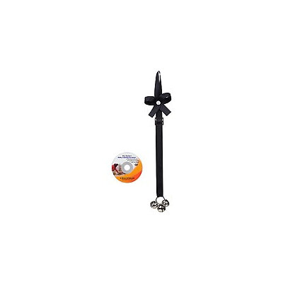 Potty Time Chimes with Training DVD - Solid Black: Solid Black