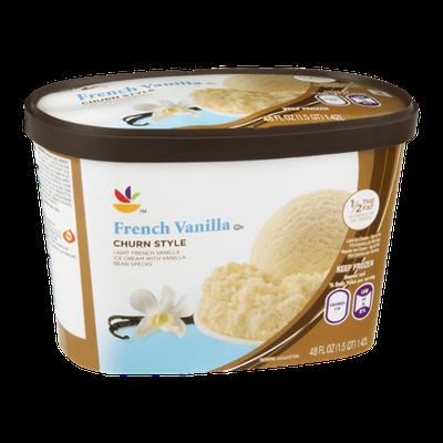Ahold Ice Cream French Vanilla Churn Style
