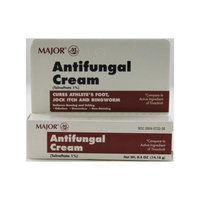 Select Brand Major Pharmaceuticals Antifungal Cream (Tolnaftate 1% - generic Tinactin) .5 oz
