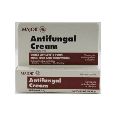 Select Brand Major Pharmaceuticals Antifungal Cream (Tolnaftate 1% - generic Tinactin) .5 oz