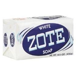 Zote White Soap 14 oz. Case of 25 Bars