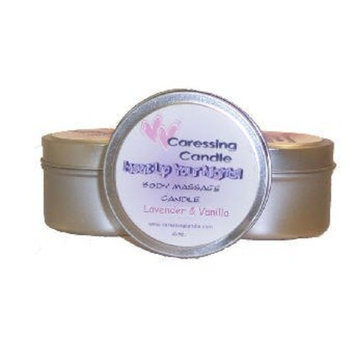 Caressing Candle, Inc Caressing Candle Body Massage Candle, Lavender/vanilla