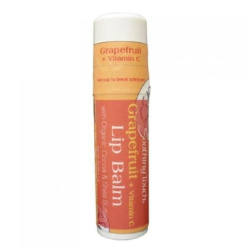 Soothing Touch & Sunshine Spa Soothing Touch 939959 Lip Balm Organic Grapefruit Case Of 12 .25 Oz