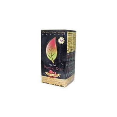 The Wu-yi Tea Company Wu-Yi Revive Tea 25 tea bags/box-Pomegranate-Goji Berry Flavored