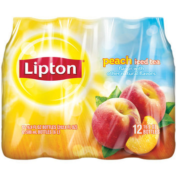 Lipton Peach 12pk 16.9oz
