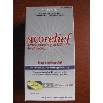 Nicorelief 4gm Stop Smoking gum 50 pcs