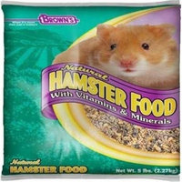 PET F.M. Brown's Brown's Naturals, 5-Pound, Hamster/Gerbil Food