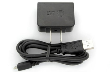 OEM Original LG V9 Micro USB Home Travel Wall Charger and Data Sync Cable