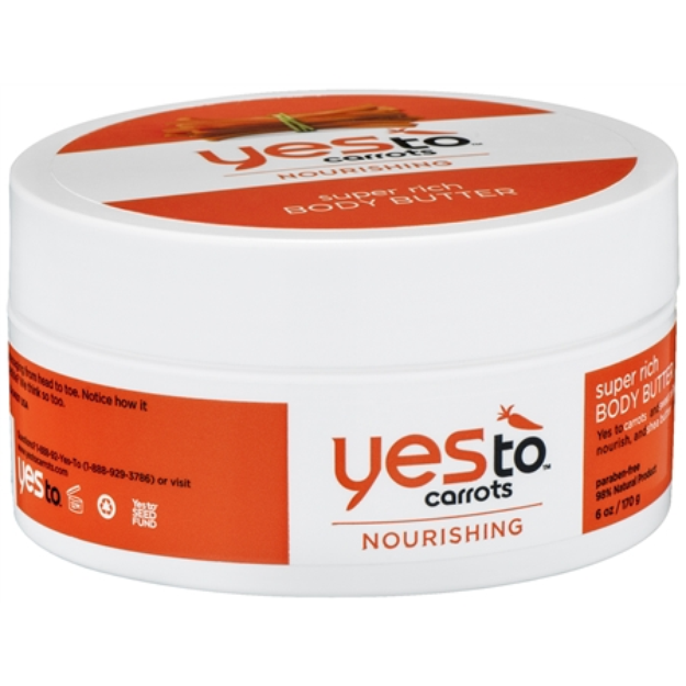 Yes To Carrots Rich Body Butter - 6 oz