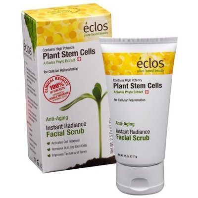Eclos Instant Radiance Facial Scrub, 2.5-Ounce