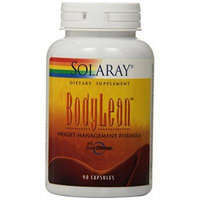 Solaray Body Lean Weight Management Plan Capsules, 90 Count