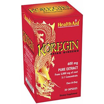 Health Aid - Koregin Korean Ginseng - 30 Caps