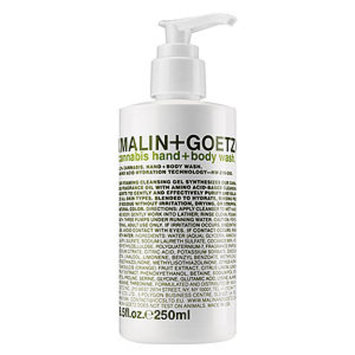 Malin+goetz MALIN+GOETZ Cannabis Hand+Body Wash, 8.5 oz