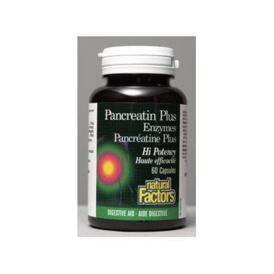 Pancreatin Enzymes (60Capsules) Brand: Natural Factors