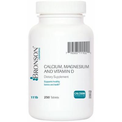 Calcium, Magnesium & Vitamin D