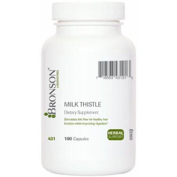 Milk Thistle Extract - 125 Mg.