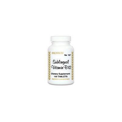 Sublingual Vitamin B-12 500mcg