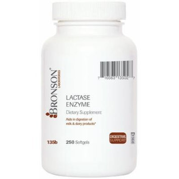 Lactase Enzyme Softgels (250)