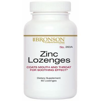 Zinc Lozenges (60)